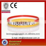 Luminous silicone bracelet