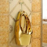Best quality bathroom golden urinal for male use