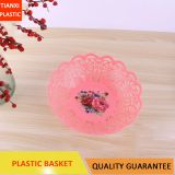 TX005 PLASTIC COLORFUL BASKET FRUIT BASKET NICE HOLLOW BASKET HOUSEHOLD