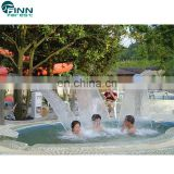 Water Decoration Stainless Steel 304 Cobra Waterfall