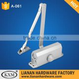 Trade Assurance alibaba china supplier alumium door closer for plastic door for furniture hardware