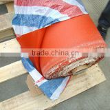 temperature resistance double-sided fireproof silicone rubber coated fiberglass cloth with high voltage