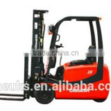 AC 1.5-1.8T three-wheel electric forklift truck
