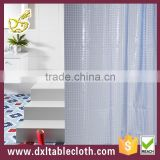 2015 simple design peva household and hotel use shower curtain