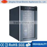 35 Liters black Wine Cooler &Beer Bottle Refrigerator