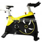 2015 New Design Commercial Spinning Bike SB5160 with alumunium handlebar post and saddle post