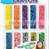 10ct Jumbo Smuch Crayons A0220