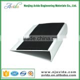 Residential PVC Insert Non Slip Rubber Stair Treads Cover indoor