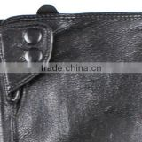 women wholesale goat skin black sexy black leather gloves