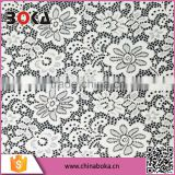 Boka Wholesale nylon lace fabrics,white lace fabric chemical guipure cheap lace fabric in yiwu factory
