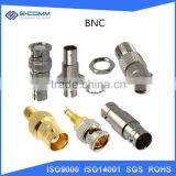 BNC Straight Connector Waterproof BNC Electrical Compression Connector