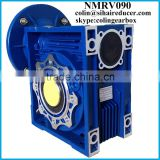 NMRV090 aluminium speed reducer, chemical machinery gearbox, printing machinery spare parts