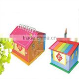 INquiry about wholesale a lovely gift small notepad with pen with company logo