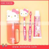 Hello Kitty famous licensed plastic cup, PP cup, Plastic toothbrush holder Stand with Strong , bathroom accessory, Bathroom set