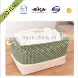 colorful pattern high quality drawstring jute clothes buggy bag
