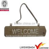 home decoration shabby chic mdf decorative welcome signs