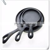 Cast iron fry pan set, cast iron steak pan, cast iron cookware