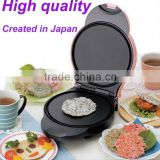 portable home use electrical pancake maker