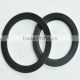 O-shaped glass jar rubber seal gasket
