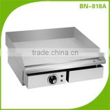 Restaurant equipment electric cast iron griddle/stainless steel electric griddle BN-818A