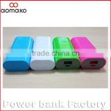 W408 Long Life Portable Mobile Phone External Charger mobile power bank 18650 hotselling gifts power bank