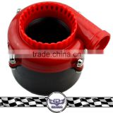 Universal Electric Blow Off Valve turbo, Red color Racing Blow Off turbo sound