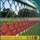 Chain Link Security Fence/PVC Coated Chain Link Fence/Galvanized Chain Link Fence(Factory)