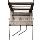 mould frame for number plate embossing machine