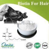 GMP Manufacturer Supply Natural Biotin For Hair                                                                         Quality Choice