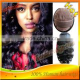 Fashional nice Body Wave Glueless Full Lace Wig Human Hair wigs Natural Hairline with baby hair in High Quality