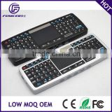 Touch mouse 2.4g mini backlit wireless keyboard for smart tv