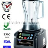 Nutrition extraction machine for stainless steel blender with both dry and wet grains container