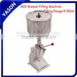 Manual Cream/Paste Filling Machine for Cosmetic,Ointment,Lotion,Emulsion product (5-50ml)