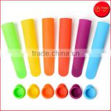 6 Pack Silicone Popsicle Ice Pop Molds popsicle mold Silicone ice lolly mould