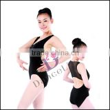A2083 2014 Women fashion ballet leotards with decorative crystal for gymnastic leotards costume
