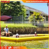 high quantity Floating Inflatable Swimming Pool With Net Play On Water / Inflatable Pools For Boat