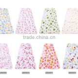 100% cotton new born baby swaddle sleepwear &blanket