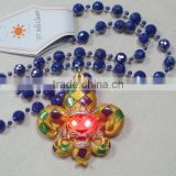 Wholesale Mardi Gras Beads Necklace Globe Beads Light Up Beads