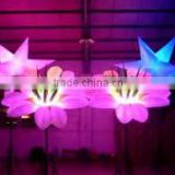 led inflatable flower,led inflatable event party decoration,inflatable flower decoration