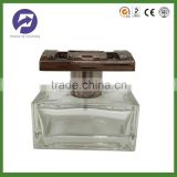 Crystal Empty Car Perfume Glass Bottle with Special Cap 50ml
