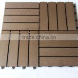newly style PS plastic wooden outdooring flooring