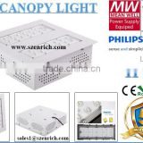 80W LED Gas Station Canopy Light