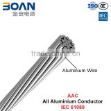 AAC Conductor, overhead bare conducotr, All Aluminium Conductor (IEC 61089)