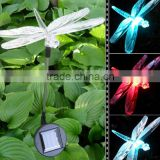 Cheap Garden Decoration Solar Light Outdoor With Dragonfly Designs