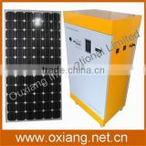 Power inversion 1500W small solar power generator with the lithium-ion battery for home
