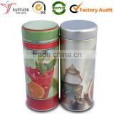 Manufacturer wholesale quality cylinder metal tin canister for wine vodka mineral water packaging shipping box                                                                                                         Supplier's Choice