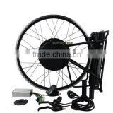 Easy Assemble Rear/Front Bicycle CE Certification Electric Engine Conversion Kit For Bikes With Battery