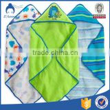 2016 new kids cartoon bath towel with hood