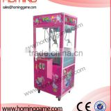 Hot sale Pink toy story crane machine/coin operated game machine/plush claw game machine