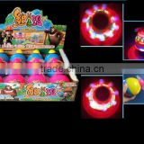 Super Laser Top cartoon Flashing led light Laser Top LED Light Spin-Baby blade Music Wind Up Spinning Flash top toys